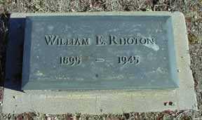 RHOTON, WILLIAM E - Grant County, New Mexico | WILLIAM E RHOTON - New Mexico Gravestone Photos