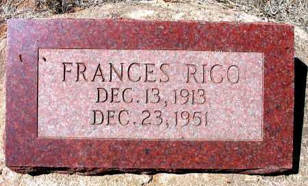 RICO, FRANCES M. - Grant County, New Mexico | FRANCES M. RICO - New Mexico Gravestone Photos