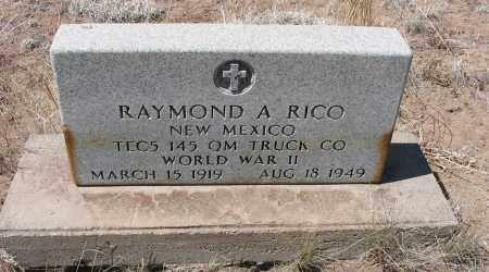 RICO, RAYMOND A. - Grant County, New Mexico | RAYMOND A. RICO - New Mexico Gravestone Photos