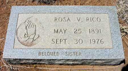 RICO, ROSA V. - Grant County, New Mexico   ROSA V. RICO - New Mexico Gravestone Photos