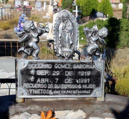 SABORIO, SOCORRO GOMEZ - Grant County, New Mexico | SOCORRO GOMEZ SABORIO - New Mexico Gravestone Photos