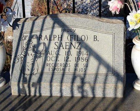 SAENZ, RALPH B. - Grant County, New Mexico | RALPH B. SAENZ - New Mexico Gravestone Photos