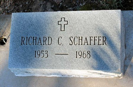 SCHAFFER, RICHARD C. - Grant County, New Mexico | RICHARD C. SCHAFFER - New Mexico Gravestone Photos
