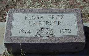 UMBERGER, FLORA FRITZ - Grant County, New Mexico | FLORA FRITZ UMBERGER - New Mexico Gravestone Photos