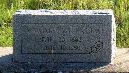 VALENCIA, MAXIMA - Grant County, New Mexico | MAXIMA VALENCIA - New Mexico Gravestone Photos