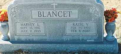 BLANCET, HARVEY - Lea County, New Mexico | HARVEY BLANCET - New Mexico Gravestone Photos