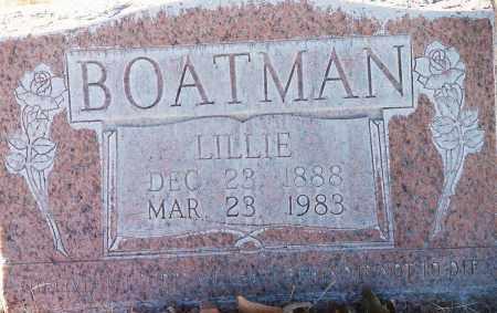 BOATMAN, LILLIE - Lea County, New Mexico | LILLIE BOATMAN - New Mexico Gravestone Photos