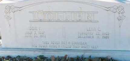 COLLIER, ISOM - Lea County, New Mexico   ISOM COLLIER - New Mexico Gravestone Photos