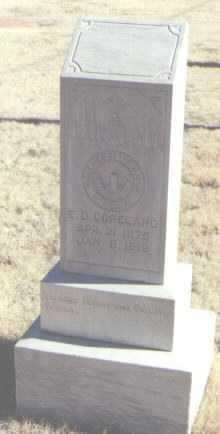 COPELAND, E. D. - Lea County, New Mexico | E. D. COPELAND - New Mexico Gravestone Photos
