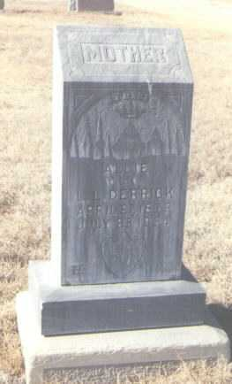 DERRICK, ALLIE - Lea County, New Mexico | ALLIE DERRICK - New Mexico Gravestone Photos