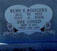 RODGERS, RUBY - Lea County, New Mexico | RUBY RODGERS - New Mexico Gravestone Photos