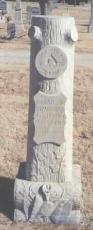 TOWNSEND, OSCAR N. - Lea County, New Mexico   OSCAR N. TOWNSEND - New Mexico Gravestone Photos