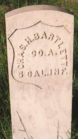 BARTLETT, CHARLES H. - Lincoln County, New Mexico | CHARLES H. BARTLETT - New Mexico Gravestone Photos