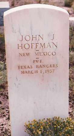 HOFFMAN, JOHN J. - Lincoln County, New Mexico | JOHN J. HOFFMAN - New Mexico Gravestone Photos