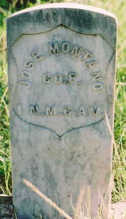 MONTANO, JOSE - Lincoln County, New Mexico | JOSE MONTANO - New Mexico Gravestone Photos