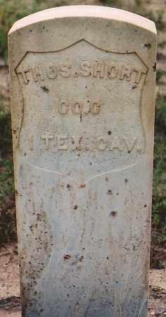 SHORT, THOMAS - Lincoln County, New Mexico   THOMAS SHORT - New Mexico Gravestone Photos