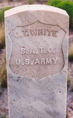 WHITE, G. T. - Lincoln County, New Mexico | G. T. WHITE - New Mexico Gravestone Photos