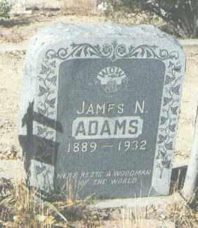 ADAMS, JAMES N. - McKinley County, New Mexico | JAMES N. ADAMS - New Mexico Gravestone Photos