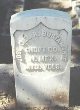 BUSTAMANTE, JOSE DEL R. - McKinley County, New Mexico | JOSE DEL R. BUSTAMANTE - New Mexico Gravestone Photos
