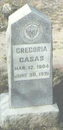 CASAS, GREGORIA - McKinley County, New Mexico | GREGORIA CASAS - New Mexico Gravestone Photos