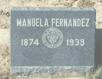 FERNANDEZ, MANUELA - McKinley County, New Mexico | MANUELA FERNANDEZ - New Mexico Gravestone Photos