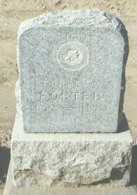 FOSTER, GEORGE W. - McKinley County, New Mexico   GEORGE W. FOSTER - New Mexico Gravestone Photos