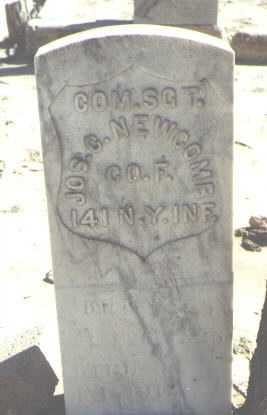 NEWCOMB, JOS. C. - McKinley County, New Mexico | JOS. C. NEWCOMB - New Mexico Gravestone Photos