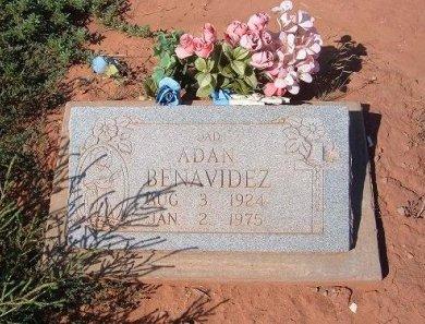 BENAVIDEZ, ADAN - Quay County, New Mexico   ADAN BENAVIDEZ - New Mexico Gravestone Photos