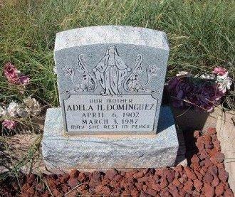 DOMINGUEZ, ADELA H - Quay County, New Mexico | ADELA H DOMINGUEZ - New Mexico Gravestone Photos