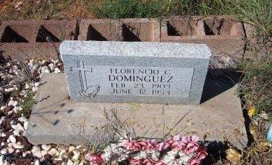 DOMINGUEZ, FLORENCIO C - Quay County, New Mexico   FLORENCIO C DOMINGUEZ - New Mexico Gravestone Photos