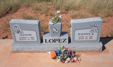 LOPEZ, JUANITA B - Quay County, New Mexico | JUANITA B LOPEZ - New Mexico Gravestone Photos
