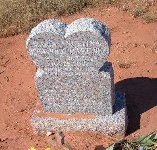 MARTINEZ, MARIA ANGELINA - Quay County, New Mexico   MARIA ANGELINA MARTINEZ - New Mexico Gravestone Photos