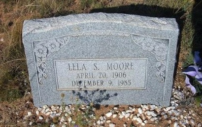 MOORE, LELA S - Quay County, New Mexico | LELA S MOORE - New Mexico Gravestone Photos