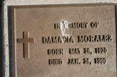 MORALEZ, DAMACIA - Quay County, New Mexico | DAMACIA MORALEZ - New Mexico Gravestone Photos