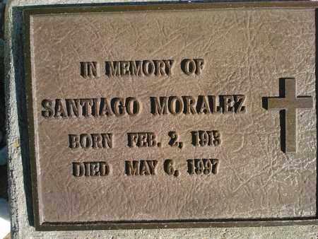 MORALEZ, SANTIAGO - Quay County, New Mexico | SANTIAGO MORALEZ - New Mexico Gravestone Photos