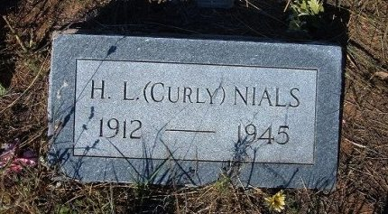 """NIALS, H L """"CURLY"""" - Quay County, New Mexico 