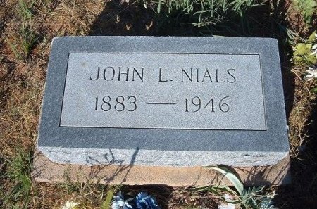NIALS, JOHN L - Quay County, New Mexico   JOHN L NIALS - New Mexico Gravestone Photos
