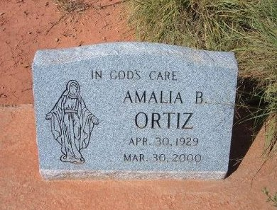 ORTIZ, AMALIA B - Quay County, New Mexico | AMALIA B ORTIZ - New Mexico Gravestone Photos