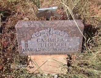 ULIBARRI, CASIMIRA - Quay County, New Mexico | CASIMIRA ULIBARRI - New Mexico Gravestone Photos