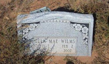 WILMS, LULA MAE - Quay County, New Mexico | LULA MAE WILMS - New Mexico Gravestone Photos