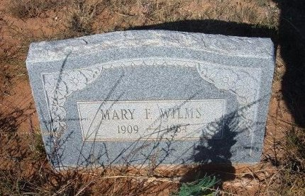 WILMS, MARY F - Quay County, New Mexico | MARY F WILMS - New Mexico Gravestone Photos