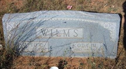 WILMS, ODA M - Quay County, New Mexico | ODA M WILMS - New Mexico Gravestone Photos