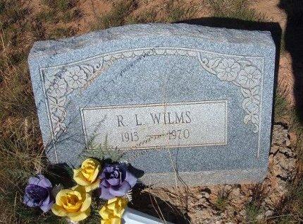 WILMS, R L - Quay County, New Mexico   R L WILMS - New Mexico Gravestone Photos