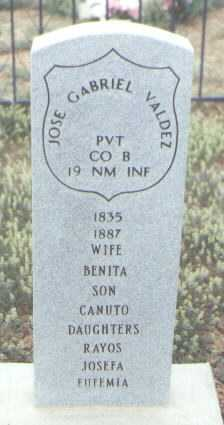 VALDEZ, JOSE GABRIEL - Rio Arriba County, New Mexico | JOSE GABRIEL VALDEZ - New Mexico Gravestone Photos