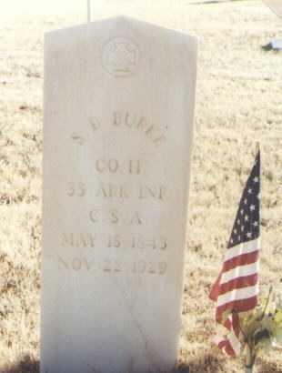 BURKE, S. D. - Roosevelt County, New Mexico | S. D. BURKE - New Mexico Gravestone Photos