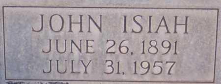 WATSON, JOHN ISIAH - Roosevelt County, New Mexico | JOHN ISIAH WATSON - New Mexico Gravestone Photos