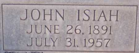 WATSON, JOHN ISIAH - Roosevelt County, New Mexico | JOHN ISIAH WATSON - New Mexico Gravestone Photos