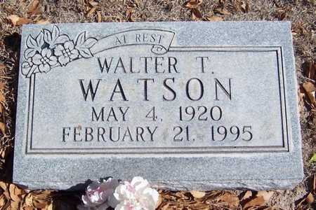 WATSON, WALTER T - Roosevelt County, New Mexico | WALTER T WATSON - New Mexico Gravestone Photos