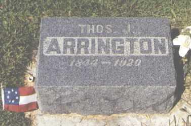 ARRINGTON, THOMAS J. - San Juan County, New Mexico | THOMAS J. ARRINGTON - New Mexico Gravestone Photos