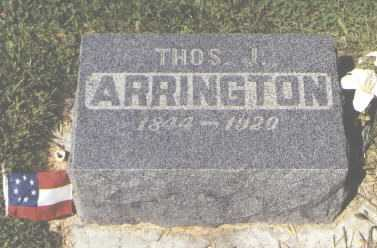 ARRINGTON, THOMAS J. - San Juan County, New Mexico | THOMAS J. ARRINGTON - New Mexico Gravestone Photos
